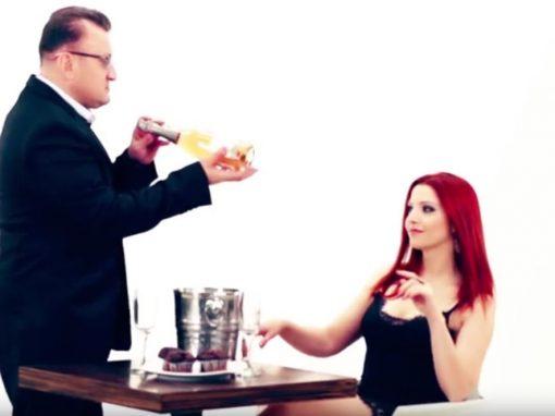 DJ Dady & Tanja Žagar v videospotu Dadi Ladi