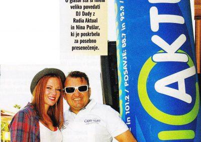 Lady piknik – DJ Dady in Nina Pušlar