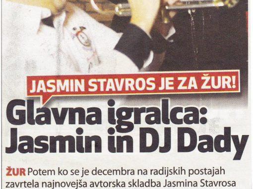DJ Dady nastopa v video spotu Jasmina Stavrosa (1. del)