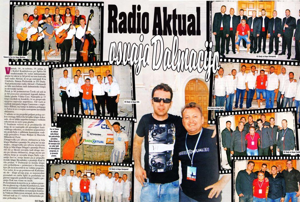 DJ Dady & radio Aktual osvajata Dalmacijo